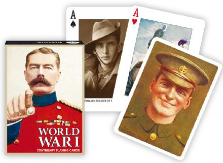 World War One Playing Cards